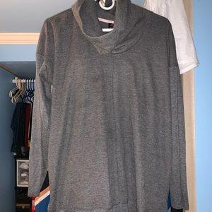 Sweaters - Waffle Knit Maternity Shirt